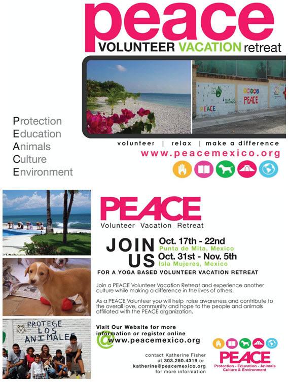 PEACE Retreats 2009